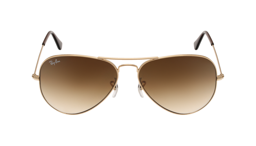 ray ban aviator noir degrade
