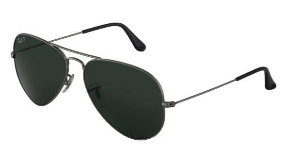 Aviator Large Métal RB3025 004/58 Gun Polarisé