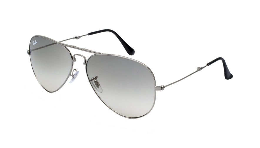 ray ban aviator grise