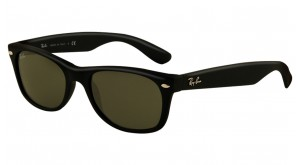NEW WAYFARER RB 2132 622 NOIR MAT