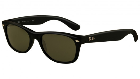 ray ban new wayfarer rb2132 noir mat
