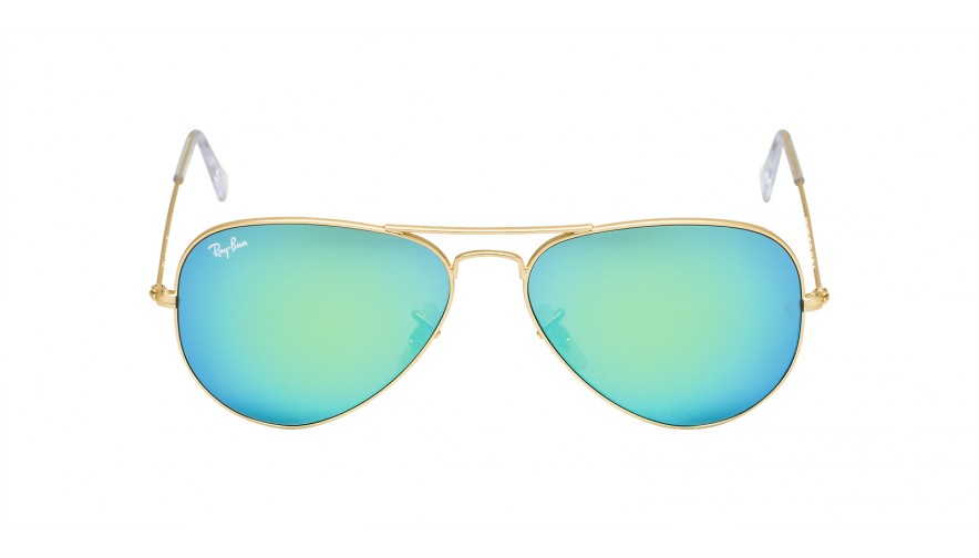 Lunettes ray ban aviator verre miroir for Lunettes verre miroir