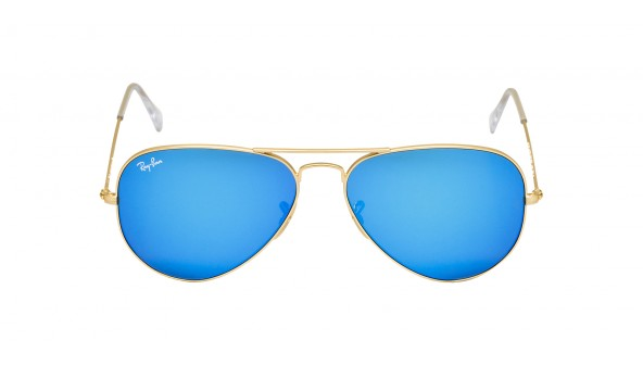 ray ban aviator miroir doré dec18f852fc6